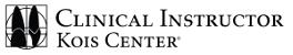 Clinical Instructor Kois Center (Emblem) - Dr. Robert Tang